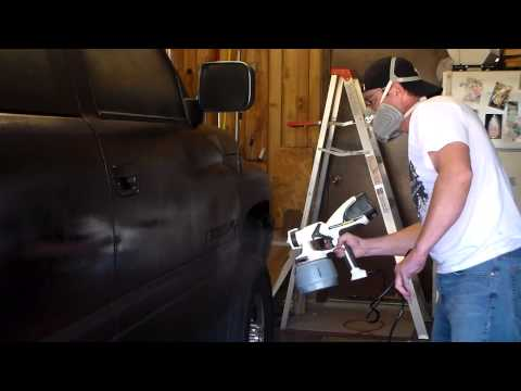 Plasti Dip a car truck or SUV - Dodge Ram.