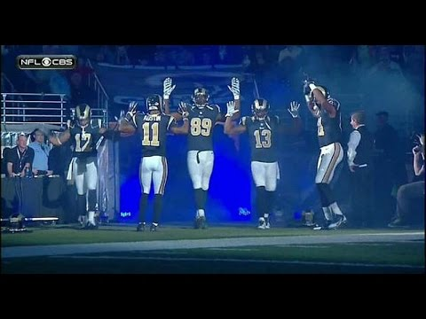 St Louis Police Want NFL Players Punished for 'Hands Up, Don't Shoot'