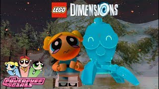 LEGO Dimensions Bubbles Free Roam Gameplay (Powerpuff Girls Wave 9)