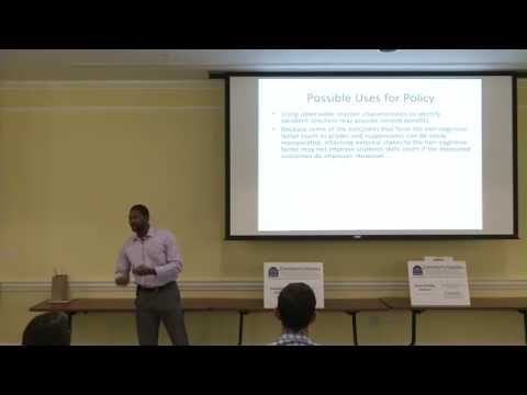 C. Kirabo Jackson gives Ed Policy Seminar on 10/6/14