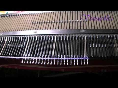 Уроки вязания на машине сильвер лк 150