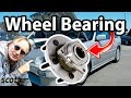 How to Replace a Front Wheel Bearing in Your Car - DIY with Scotty Kilmer