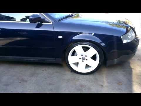 Lowered Audi A6 C5