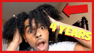 4 YEAR FRO JOURNEY | FAST HAIR GROWTH JOURNEY