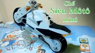 Chế siêu MÔ TÔ mô hình điện mini