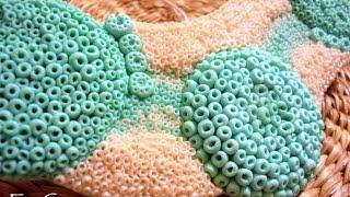"""Колье """"морское дно"""" из полимерной глины"""