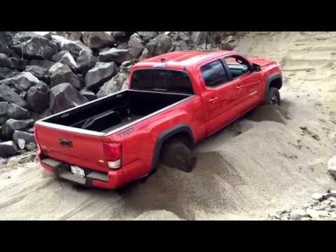 2016 Toyota Tacoma - Demonstrating Crawl Control