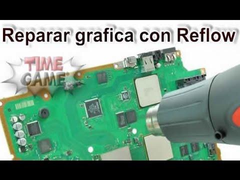 Reparar chip grafico mediante el metodo reflow