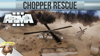 ARMA 3 ZEUS: Playing god! | Custom rescue CO-OP mission