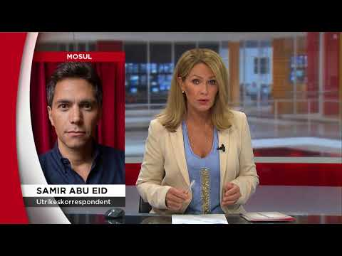 Mosul-bor återvänder till sina hem efter att IS trängts bort - Nyheterna (TV4)
