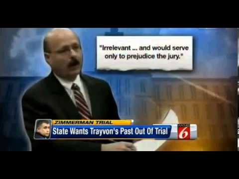 Prosecutors trying to block Jury from seeing TM's past! Trayvon Martin George Zimmerman