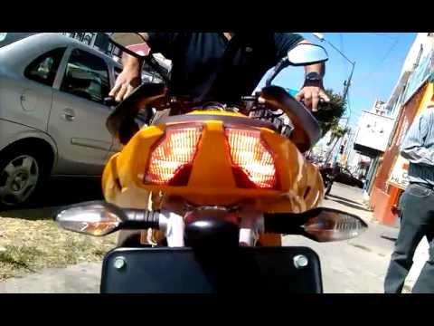 Pulsar ns 200cc México amarila.