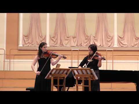 Мартину, Богуслав - Сонатина для скрипки и фортепиано соль мажор
