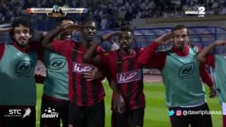 هدف الرائد الأول ضد الهلال (إسماعيل بانغورا) في الجولة 9 من دوري جميل