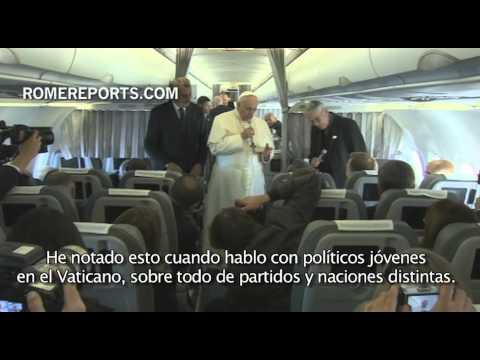 Francisco: Nunca cierro la puerta al diálogo, ni siquiera con terroristas del Estado Islámico