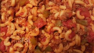 FAMILY FRIENDLY GOULASH...ONE POT MEAL