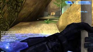 Halo 1: Combat Evolved PC Capture The Flag - Map Battle Creek Random Game Multiplayer 02
