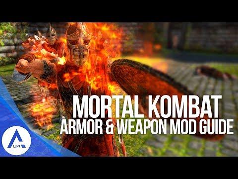 Mortal Kombat Mod - Weapon & Armor Guide - Skyrim Special Edition (PS4/XB1/PC)