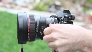 Olympus E-M1 with a Canon 17mm TS-e Lens Review
