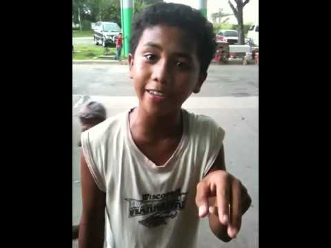Filipino boy with an amazing voice!