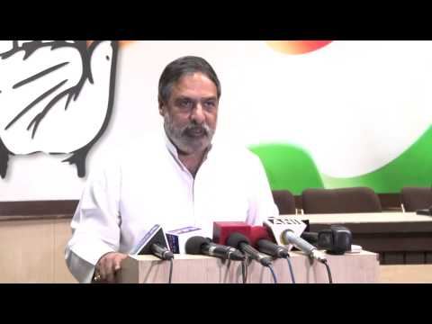 Anand Sharma's statement on issuance of summons in the National Herald case