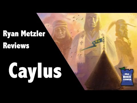 Caylus Review - with Ryan Metzler