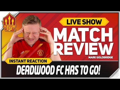Goldbridge SOLSKJAER TIME Manchester United 2-2 Burnley Match Reaction