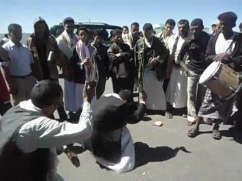 yemen mizmar dance رقص مزمار شباب العود
