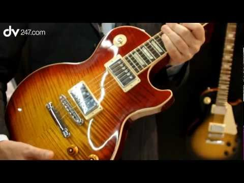 New Gibson Les Paul Standard @ Musikmesse 2012