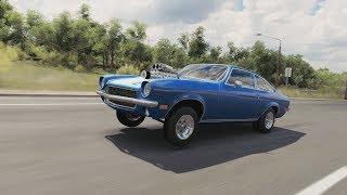 Forza Horizon 3 | '71 Chevy Vega GT - 1000+HP LS3 Wheelie/Drag Build, Pulls, Test, & More (Gameplay)