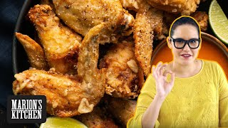 How To Make Salt and Pepper Chicken Wings - Marion's Kitchen