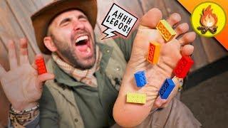 Barefoot LEGO Challenge!