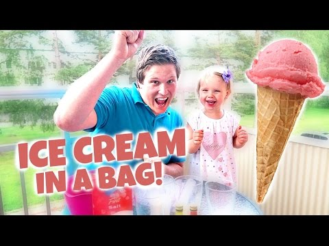 ICE CREAM IN A BAG! - Great toddler summer activity!