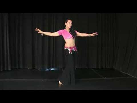 Belly Dancing Moves : Belly Dance Reverse Figure Eight Moves
