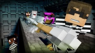 Minecraft Mini-Game: COPS N ROBBERS! (MAX