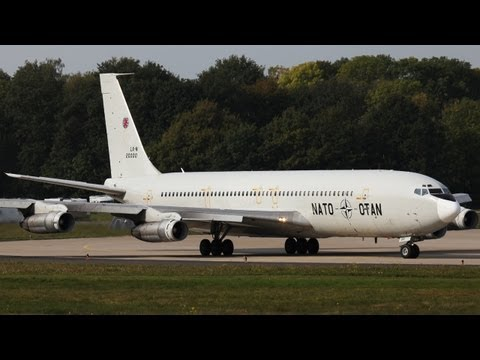 Last flight of this Boeing 707 - Good bye (HQ)