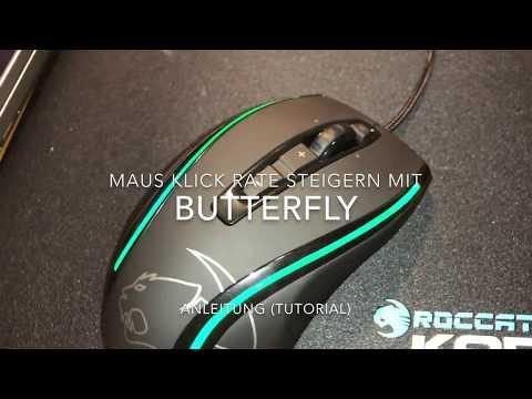 Höhere Klickraten erreichen mit der Butterfly Technik Gamer Maus Technik Anleitung