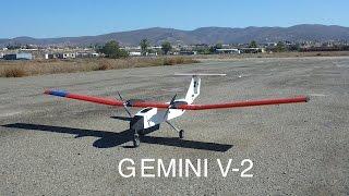 Gemini V-2 Custom UAV with Extensive Modifications
