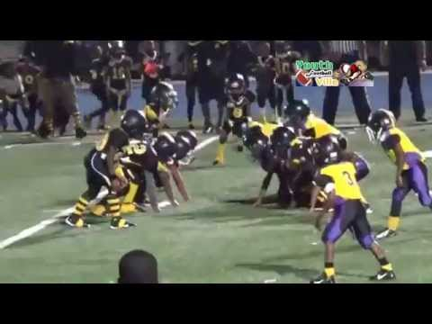 Footballville 7u (FYF) PLAYOFFS Lauderdale Lakes vs Miami Gardens Bulldogs