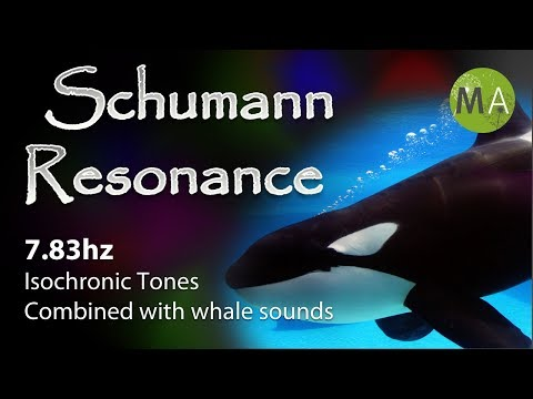 Schumann Resonance 7.83hz Isochronic Tones, With Underwater Sounds And Whales video