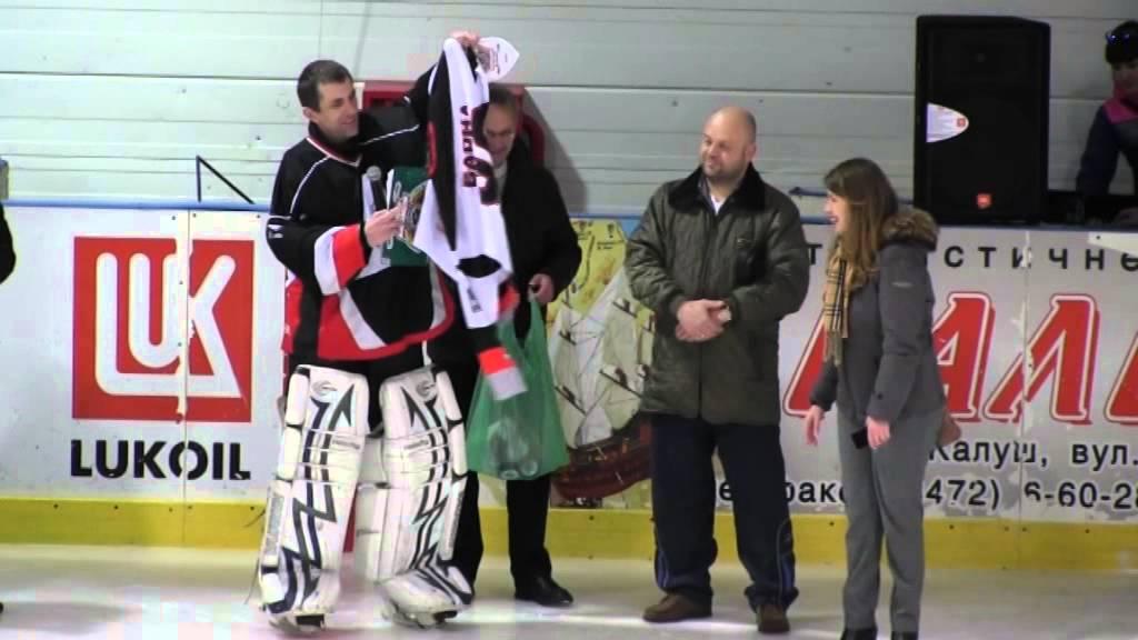 """Презентація дитячо-юнацької хокейної команди """"Калуський легіон"""""""