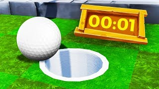 IMPOSSIBLE GOLF AGAINST THE CLOCK! (Golf It)