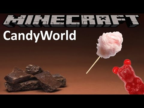 CANDYWORLD MOD - MINECRAFT 1.12.2 (MOD SHOWCASE)