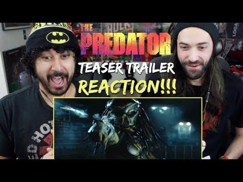 THE PREDATOR   Teaser TRAILER - REACTION & REVIEW!!!