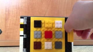 Как сделать из лего кодовый замок 215