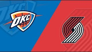 NBA Live Stream:Portland TrailBlazers Vs Oklahoma City Thunder (Live Reaction & Play By Play) Game3