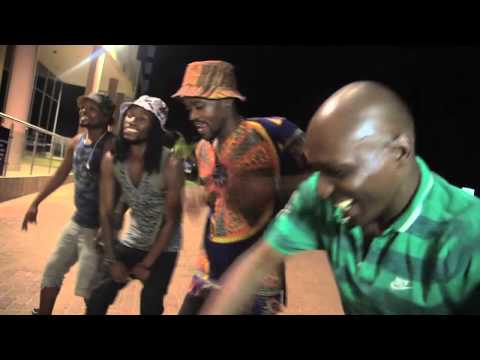 MMP Family and DJ Edu dancing in Botswana