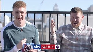 Joe Weller & Behzinga select their combined Liverpool & Manchester City XI! | Saturday Social