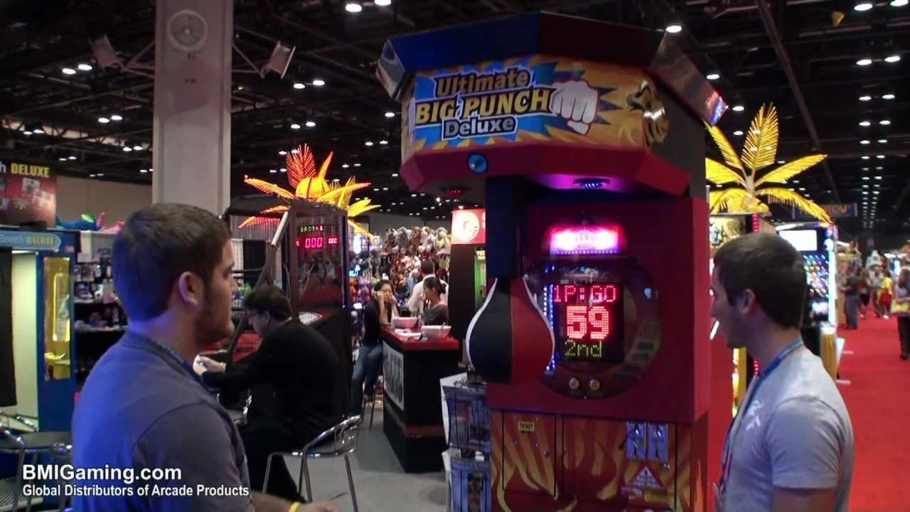 boxing machine arcade