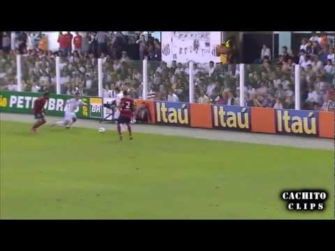 Neymar vs Flamengo - 2011 - Cachito clips